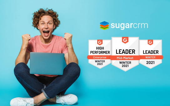 Customer Wins With SugarCRM - Leader in Mid-Market Grid for CRM