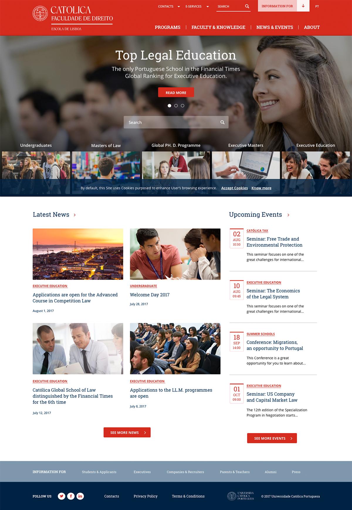 ALTA Digital's Clients | Universidade Católica Portuguesa